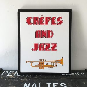 enseignes commerciales Crêpes and Jazz
